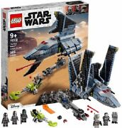 Lego Star Wars The Bad Batch Attack Shuttle 75314 Building Toy With 5 Lego