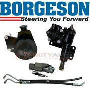 Borgeson Steering To Power Conversion Kit For 1970 Plymouth Superbird 7.2l Gk