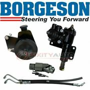Borgeson Steering To Power Conversion Kit For 1970-1972 Plymouth Cuda 6.3l Ry
