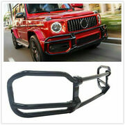 For Mercedes Benz G Class W464 G63 2019 Front Bumper Grille Guard Bodykit Black