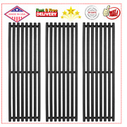 17and039and039 Cast Iron Grill Grates For Char-broil Commercial Signature Tru-infrared
