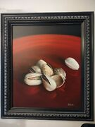Original Painting Pistachios On A Plate 2020 By Ethan Warner