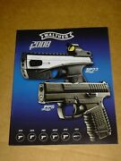 2008 Walther Catalog 28pp Guns Rifles Military Police Accessories Pps Ppk G22