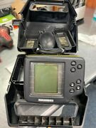 Used Humminbird Wide One Hundred Portable Fish Finder Untested Quc010628