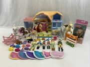 Fisher Price Loving Family Sweet Expressions Stable Friendship Ponies Sounds Lot