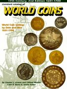 17th Century 1601-1700 Standard Catalog Of World Coins Paperback Book The