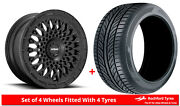 Alloy Wheels And Tyres 19 Rotiform Lhr-m For Mitsubishi Outlander [mk2] 06-12
