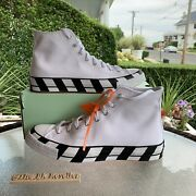 Converse Chuck 70 X Off-white White 2018 Size 11.5 Worn Once Still Has Tags On
