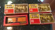 Ho Scale Train Miniature 2402 And 5533, Train Master 2102 And Tyco General 1860