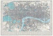 1841 Cruchley's New Plan Of London Improved To 1841 Folding Map And Case Fm202