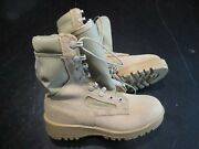 Wellco 3.5 R Desert Tan Suede Leather Army Navy Military Combat Work Boots New