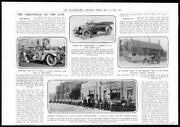 1915 Antique Print Motor Car Vauxhall Humber Five Seater Rover Buicks  62