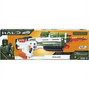 Nerf Halo Infinite Ma40 Rare. Comes With Batteries And 20 Extra Elite Darts.