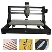 2-in-1 3 Axis Diy Laser Cnc Engraving Machine W/ Protective Glasses + Drill Bits