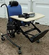 Rifton 870 Adjustable Special Needs Activity Chair With Tray And Straps  Sy