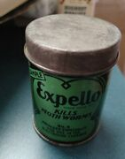 Vintag Sample Advertising Tin Can Expello Moth Insecticide Pesticide Bug Killer
