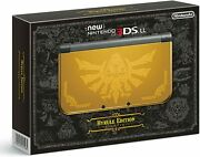 New Nintendo 3ds Ll Hyrule Edition Discontinued Ac140