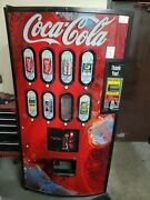 Coca-cola Vending Machine - Parts Only - Not In Use Please Read