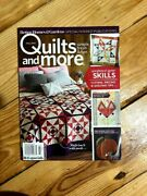 Quilts And More Magazine Fall 2018 All People Quilt Apandq
