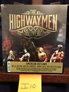 The Highwaymen Live American Outlaws Cd And Blu-ray Set Johnny Willie Waylon
