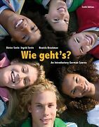 Wie Geht's An Introductory German Course, Hardcover By Sevin, Dieter Sevi...