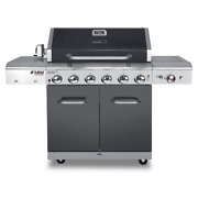 Nexgrill Gas Grill 6-burner Grease Pan Heat Thermometer Warming Rack Tool Holder