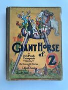 The Giant Horse Of Oz By Ruth Plumly Thompson 1928