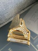 Oliver Weber Grand Piano Studded With Genuine Crystals Mib