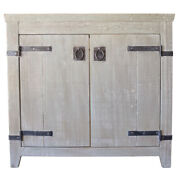 Native Trails Vnb36 Americana 36 Wooden Vanity Cabinet Only - Wood