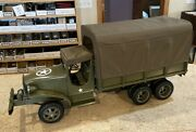 Old Time Toys Deuce And A Half Pressed Steel Large Scale Military Troop Transport