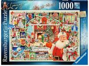 Ravensburger 24th Limited Edition Christmas Is Coming 1000 Pc Puzzle Ships Free