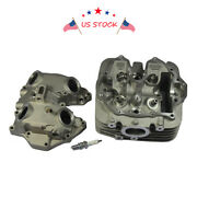 New Cylinder Head With Spark Plug Fit For Honda Sportrax Trx400ex 1999-2008 Usa