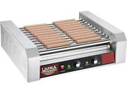 Great Northern Popcorn Company Hot Dog Grill 11 Roller Gray