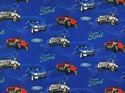 Unit Of 5 And 10 Yard Ford Mustang Boss Printed Fabric By The Yard