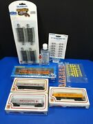 Bachmann Ho Emd Gp38-2 Dcc Equipped Bnsf 2344 Diesel Loco W/cars And Accessories