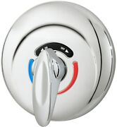 Symmons 4-500-x Chrome 2.5 Gpm Shower Valve Trim With Safety Stops