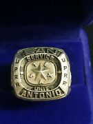 2000 Union Pacific San Antonio Texas Service Unit Safety Sterling Silver Ring