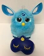 Furby Connect Teal Blue Talking Animated Interactive Bluetooth Sleep Mask 2016