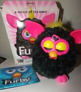 Furby Interactive Electronic Pet Punky Pink/black Hasbro 2012 / Box A3122 Tested