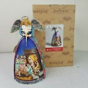 Jim Shore A Star Shall Guide Us Angel Nativity Gown Figurine Christmas Holiday