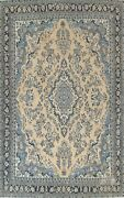Vintage Muted Floral Hamedan Evenly Low Pile Hand-knotted Large Area Rug 10and039x13and039