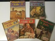 Outdoor Life Magazine Lot 1945 Vintage Issues.