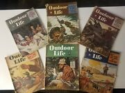 Outdoor Life Magazine 1946 And 1947 Vintage Issues.