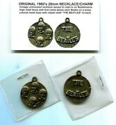 Beatles Brass Colored Necklace Pendant Or Charm In Sterns Book