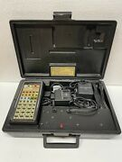 Heathkit Aircraft Navigation Computer Model Oc-1401 With Chargers Manuals Case