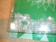 Vintage Christmas Light Covers Reflectors Star Pkg Of 46 Clear