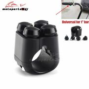 Black 4 Push Buttons Hand Control Momentary Switch M-switch For 1'' Handlebar