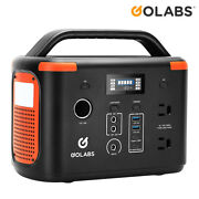 Golabs Portable Power Station 256w Solar Generator Energy Storage Quick Charge