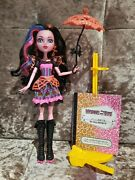 Monster High Doll Dracubecca Freaky Fusion Draculaura Robecca Steam Great Cond