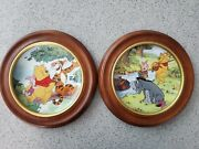 Disney - Winnie The Pooh - Fun In 100 Acre Woods Collector Plates